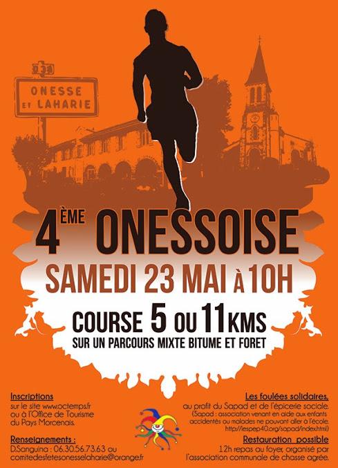 AFFICHE course pédestre