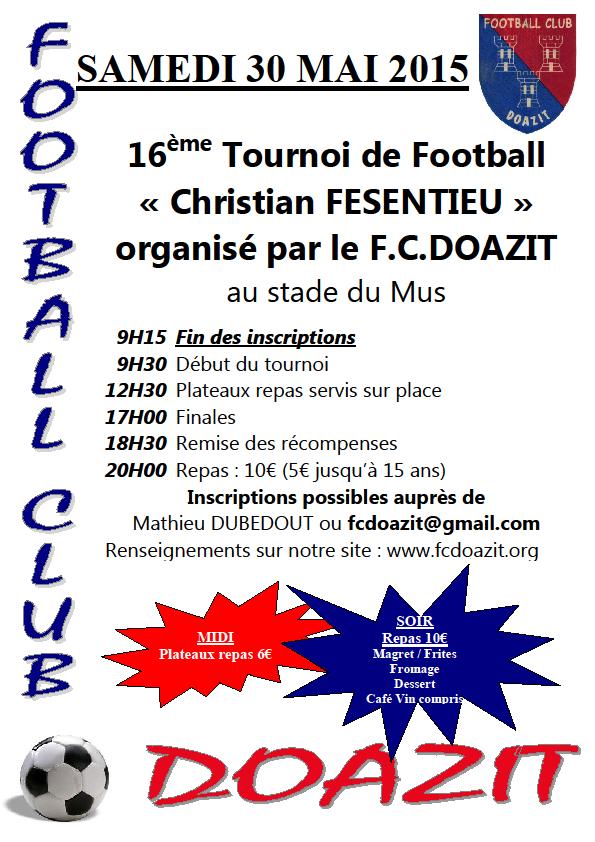 Tournoi de foot Doazit